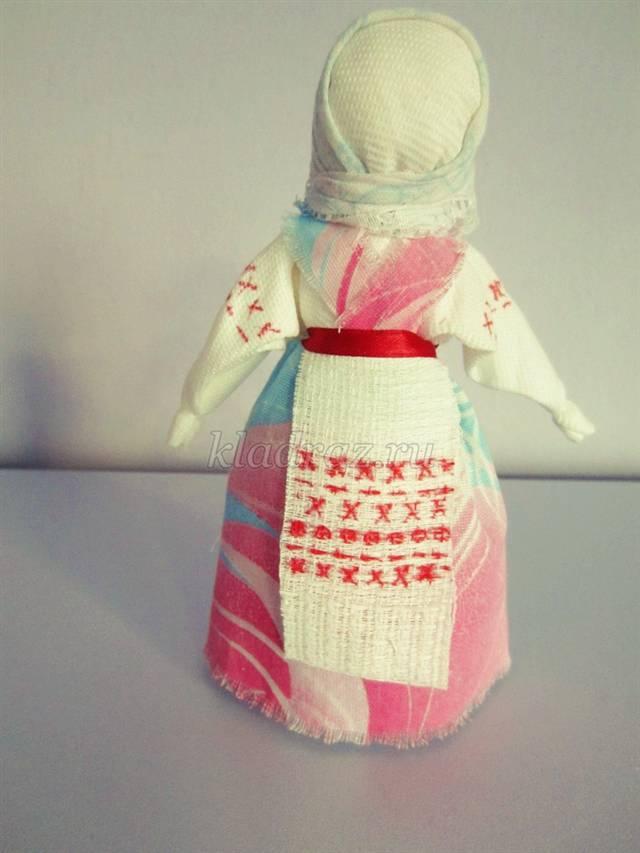 Как сделать тряпичную куклу мастер класс